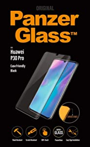 PanzerGlass 5336 Tempered Glass Screen Protector For Huawei P30 Pro,Black - (Pack of1)