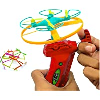 Wizme Kids Flying Toy Game for Playing Indoor Outdoor for Kids Boys Girls (Pack of 1) Multicolor