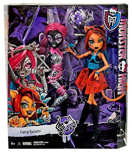 monster-high-fierce-rockers-catty-noir-and-toralei-exclusive-2-pack-by-mattel