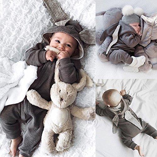 Tragen Im Schlafzimmer Von Das Kostüm - ZHOUBA Baby Jungen (0-24 Monate) Spieler grau 0-3M
