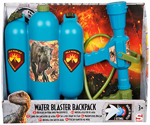 Jurassic World Water Blaster Backpack Garden Juguetes para Niños Juegos al Aire Libre para Niños Soaker Back Pack Summer Game