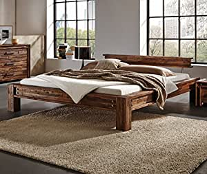 hasena bettgestell san luca akazie vintage brown 180x200. Black Bedroom Furniture Sets. Home Design Ideas