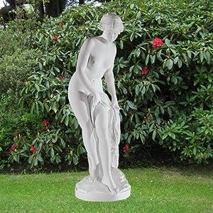 610Xr0bUGQL. SS300  - Large Marble Statues - Bathing Goddess 162cm Roman Garden Sculpture