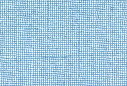 smartpillow Babykopfkissen Ersatzbezug (Vichy-Blau)