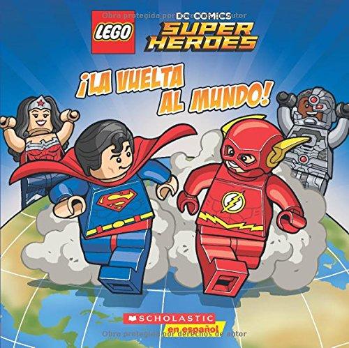 La vuelta al mundo! / Around the World! (Lego DC Super Heroes)
