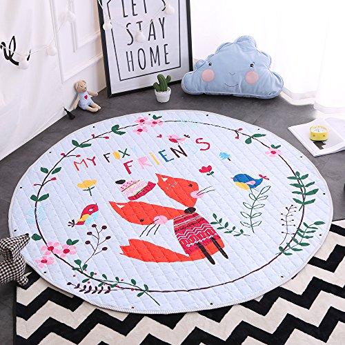 *Kinder Aufräumsack Spielmatte Spielzeugteppich für kinderzimmer Speicher Tasche& Aufbewahrung ⌀150cm(Freund)*