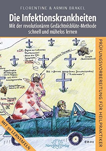 Die Infektionskrankheiten: Mit der revolutionären Gedächtnisblüte-Methode schnell und mühelos lernen-PRÜFUNGSVORBEREITUNG FÜR HEILPRAKTIKER