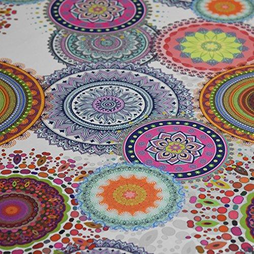 Spirale Foto ddigital bedruckt Farbe Baumwolle Vorhang Stoff Weiche Polsterung in Breite 137cm-Meterware -