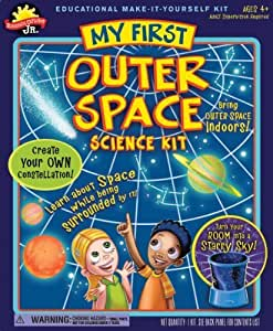 POOF-Slinky 0S6803003 Scientific Explorer Jr. My First Outer Space Science Kit, 4-Activites by Scientific Explorer TOY (English Manual)