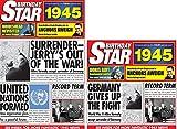1945Geburtstag Geschenken–1945Geburtstag Star DVD, Compilation CD- und 1945Grußkarte