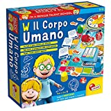 Lisciani Giochi-Il Corpo Umano Giochi Educativi, Multicolore, 48915