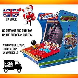 Donkey Kong Classic Arcade Machine Bartop Cabinet 999 In