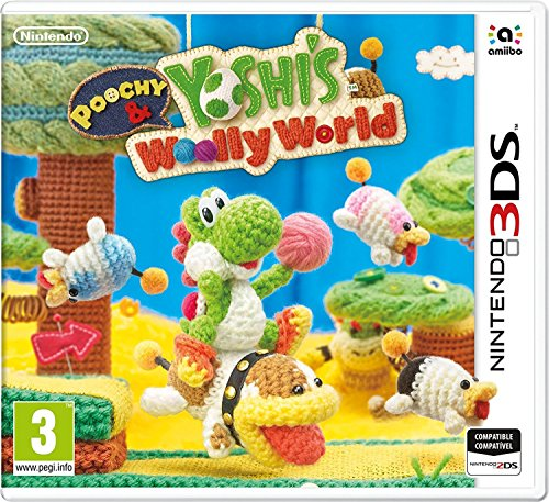 Poochy & Yoshi's Woolly World Jeu 3DS (Yoshis Woolly World)