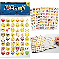 Emoji Jumbo Stickers   960 Most Popular Emoticons   Larger In Size   Cool, Educational and Fun