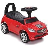 Kinderauto, Rutschauto Go Ride C, Staufach, Kippschutz, Musik und Hupe, Lehne (Rot)