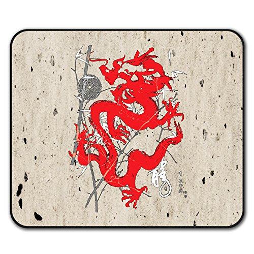 Fantasie Drachen Mystiker Mouse Mat Pad, Asien