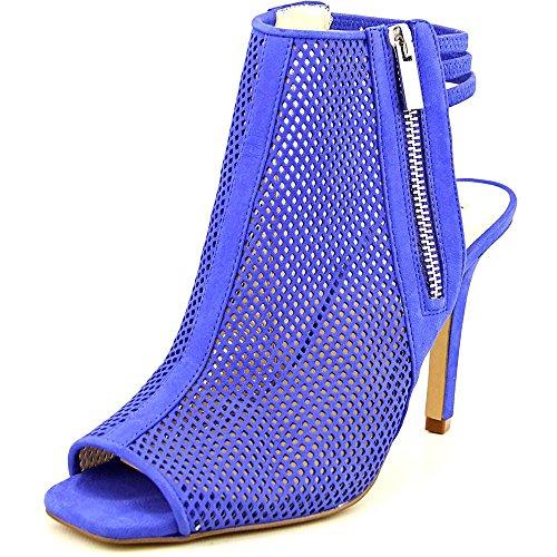 INC International Concepts Kimmee 2 Peep Zehe Wildleder Kurzstiefel Lagoon Blue