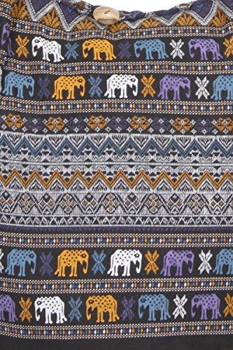 ThaiUK Herren Jeanshose Aztec Black