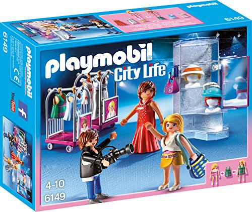 PLAYMOBIL 6149 - City Life - Top Modelle mit dem (Für 80er Kinder Mode)