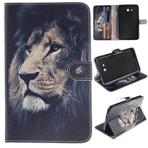 Skytar Samsung Tab 3 7.0 Lite Case,Hülle Samsumg Tablet SM T110 - PU Leder Cover Case Stand Schutzhülle Flip Tasche für Samsung Galaxy Tab 3 7.0 Lite (SM-T110/T111/T113/T116) Tablet Hülle Schutzhülle