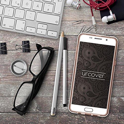 Apple iPhone 6/6S custodia di Original Urcover® in il commercio scomparto custodia TPU ultra slim 360° Edition iPhone 6/6S per cellulare Case Cover [in lingua tedesca] Rosa