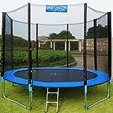 Trampolin Kindertrampolin Garten Set 426 cm + Netz Zubehör TÜV SÜD GS