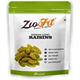 Ziofit Indian Long Raisins, 200g (Buy 1 Get 1 Free)