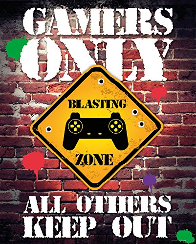GB eye, Gamers Only, Controller Keep out, Mini Poster 40x50cm
