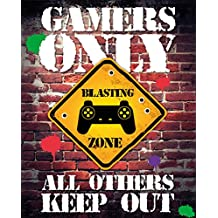 Mini Poster Gamers only