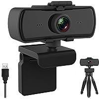 BENEWY Webcam mit Mikrofon,Upgrade Full HD 1080P Webcam, Streaming Webcam für Computer Widescreen-Videoanrufe und…