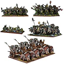 Mantic Games MGKWO100 Kings of War Orc starter Force Playset