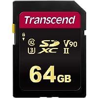 Transcend 64 GB SDXC/SDHC 700S Speicherkarte TS64GSDC700S / bis zu 285 MBs lesen und 180 MBs schreiben