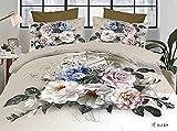 Belomoda 5D Floral Rose Print Double Bed...