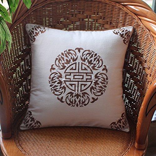 Divano cuscini cuscino cotone cintura di ricamo