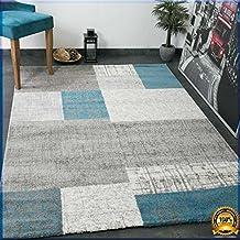 Tapis bleu turquoise for Amazon tapis de salon