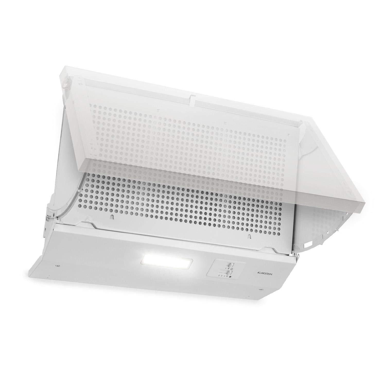 Campana Extractora Extractor Cocina Humo Absorción Olores Acero Inoxidable LED