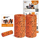 Blackroll Orange Die Selbstmassagerolle - Twin-Set Pro (inkl. Übungs-Poster und -Booklet)