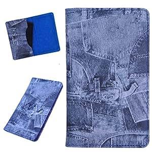 DCR Pu Leather case cover for Lava Iris 450 Colour+ (multi colour)