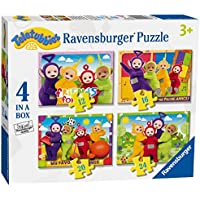 Ravensburger Teletubbies 4 in a box (12, 16, 20, 24pc) Jigsaw Puzzles