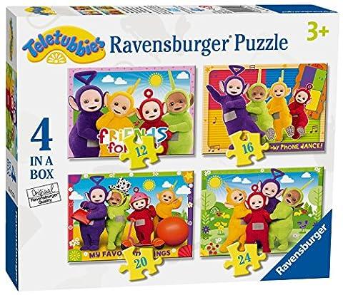 Ravensburger Teletubbies 4in einer Box (12, 16, 20, 24-) Puzzle