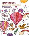 Malbuch für Erwachsene: Happiness: Mi...
