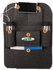 J Go Vehicle Car Back Seat Mounted Hanging Organizer Bag, BLACK (1-Piece)