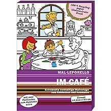 Mal-Leporello: Im Café: Malen und Entdecken