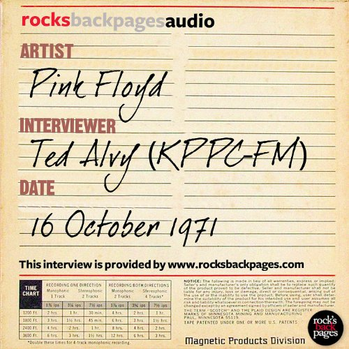 Pink Floyd Interviewed By Ted Alvy
