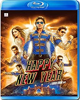 HAPPY NEW YEAR - Blu-ray ***Shah Rukh Khan, Deepika Padukone, Abhishek Bachchan - OmU Hindi mit Englischem Untertitel (keine De