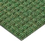 Andersen 210530716Wasser-Hog Bodenfliesen, Classic, Eingang, Polypropylen Fibber, quadratisch Muster, SBR Gummirückseite, 45,7cm Länge x 45,7cm Breite, 7/40,6cm Dick, dunkelgrün (10Stück)