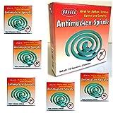 50 Stück Insekten Spirale Mückenspirale Moskitospirale Insektenspirale