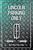Lincoln Parking only park schild tin sign Metallic schild aus blech garage