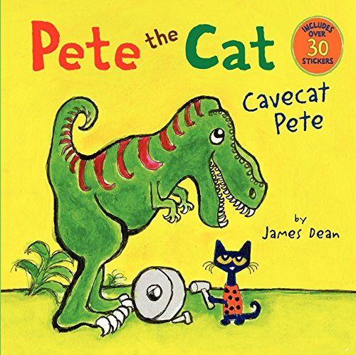 Pete the Cat: Cavecat Pete por James Dean