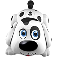 WEofferwhatYOUwant Electronic Pet Dog Harry - Interactive Robot Responds to Touch, Walking, Chasing and Fun Activities. Batteries Included.